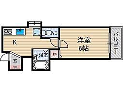 メゾンドバランシヤ2[3階]の間取り