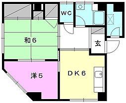 和田ビル[201 号室号室]の間取り