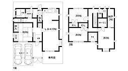 [一戸建] 兵庫県西宮市天道町 の賃貸【/】の間取り