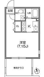 ZESTY神楽坂[0101号室]の間取り