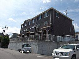 愛知県岡崎市明大寺町字大圦丁目の賃貸アパートの外観