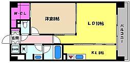 兵庫県神戸市東灘区深江南町1丁目の賃貸マンションの間取り