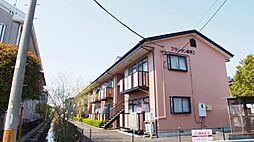 埼玉県鴻巣市大芦の賃貸アパートの外観
