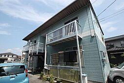 広島県福山市本庄町中1丁目の賃貸アパートの外観