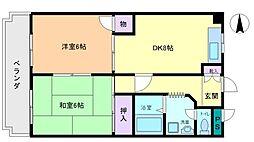 昭栄マンション[3階]の間取り