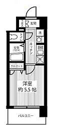 エスリード新大阪SOUTH[5階]の間取り