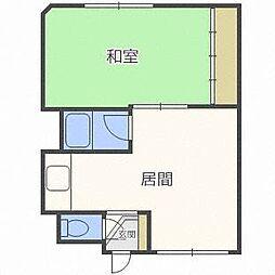 グランドコーポ[2階]の間取り
