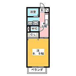 READING[2階]の間取り