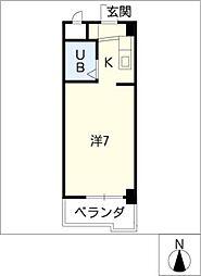 DOLL堀田I[5階]の間取り