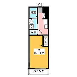 仮)蟹江町富吉新築アパート[1階]の間取り