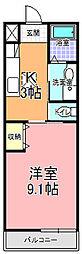 SAMURAI HITACHI[103号室]の間取り