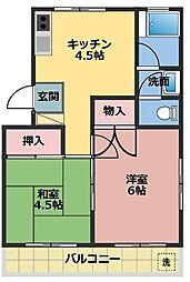 第一昭栄ハイツ[1階]の間取り