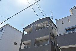 JR片町線(学研都市線) 徳庵駅 徒歩8分の賃貸アパート