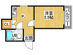 ドリーム21[2階]の間取り