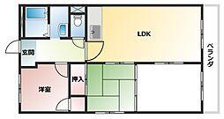 メゾンジュールイマ[4階]の間取り