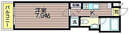 東京都世田谷区南烏山4の賃貸マンションの間取り