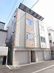 北海道札幌市東区北二十四条東14丁目の賃貸アパートの外観