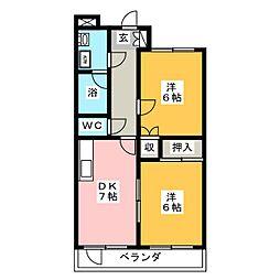 ロベリア[1階]の間取り