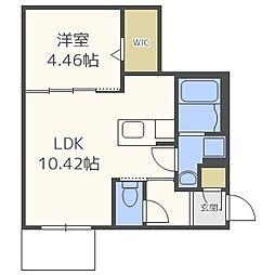 GRAND CANYON137(グランドキャニオン)[4階]の間取り