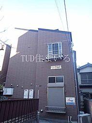 東京都板橋区高島平5丁目の賃貸アパートの外観