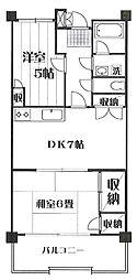 メゾン羽沢[C−1号室]の間取り