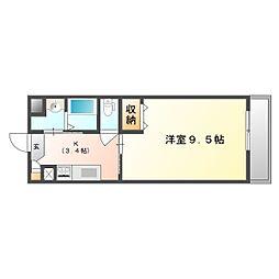 福富GRADEマンション[2階]の間取り