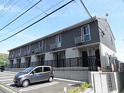 福岡県北九州市若松区大字小敷の賃貸アパートの外観