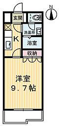 エスポアールSI[1階]の間取り