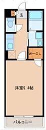 JR仙石線 陸前高砂駅 徒歩8分の賃貸アパート 1階1Kの間取り