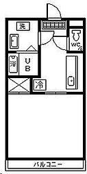 住吉ロードハウス[105号室]の間取り