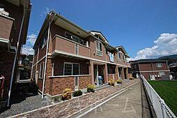 広島県広島市安芸区畑賀2丁目の賃貸アパートの外観