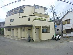 美園町マンション[1階]の外観