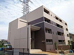 東京都八王子市宇津木町の賃貸マンションの外観