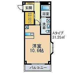 みやまマンションI[101号室]の間取り