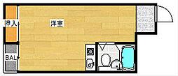 ライフステージ花園[5階]の間取り