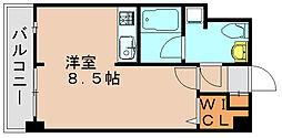 ラファセ箱崎[7階]の間取り