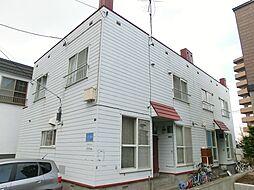[テラスハウス] 北海道札幌市豊平区月寒西一条3丁目 の賃貸【/】の外観