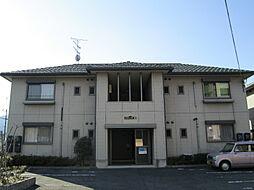 滋賀県湖南市平松北2丁目の賃貸アパートの外観