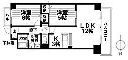 愛知県名古屋市瑞穂区瑞穂通5丁目の賃貸マンションの間取り