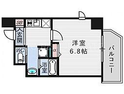 ビガーポリス287滝川公園[2階]の間取り