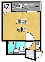 ハイコート枚方[4階]の間取り