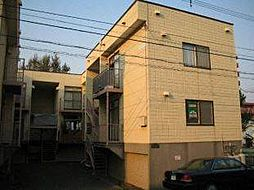 クレセントハウスB棟[2階]の外観