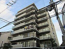 ライオンズマンション北田辺[2階]の外観
