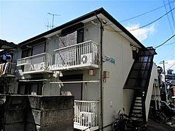 神奈川県横浜市南区清水ケ丘の賃貸アパートの外観