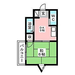 サクセスM[2階]の間取り