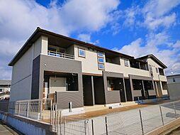 奈良県奈良市大安寺2の賃貸アパートの外観
