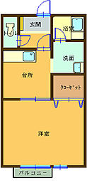 大釜駅 4.1万円