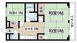第2太田コーポ[301号室]の間取り