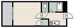 クリスタルウイング[5階]の間取り