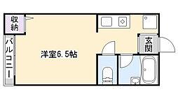 メゾン・ブランシェ[2階]の間取り